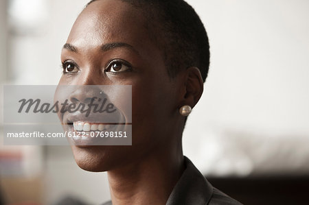 Young businesswoman, portrait Stock Photo - Premium Royalty-Free, Image code: 6122-07698151