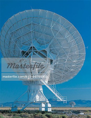Satellite tracking dish Stock Photo - Premium Royalty-Free, Image code: 613-00705910