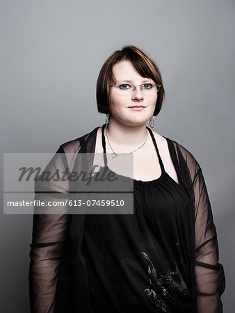 portrait of young woman Stock Photo - Premium Royalty-Free, Image code: 613-07459510