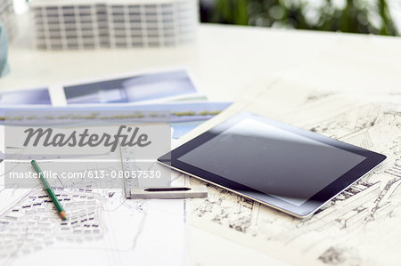 Architecture designer's office Stock Photo - Premium Royalty-Free, Image code: 613-08057530