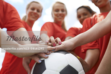 The Red Team Stock Photo - Premium Royalty-Free, Image code: 613-08181241