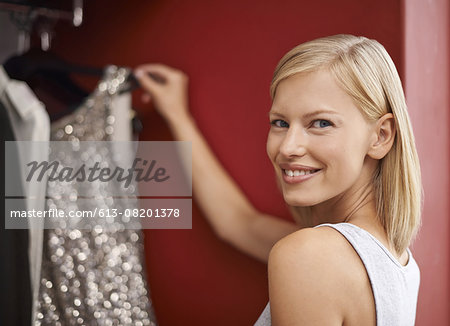 The perfect dress Stock Photo - Premium Royalty-Free, Image code: 613-08201378