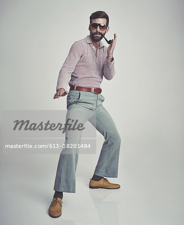 My style is totally far out! Stock Photo - Premium Royalty-Free, Image code: 613-08201484