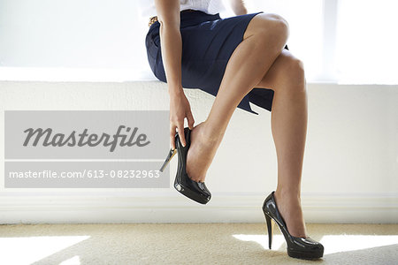 Power heels Stock Photo - Premium Royalty-Free, Image code: 613-08232963