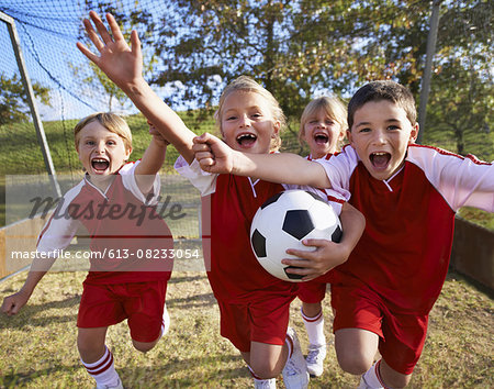 They did it! Stock Photo - Premium Royalty-Free, Image code: 613-08233054