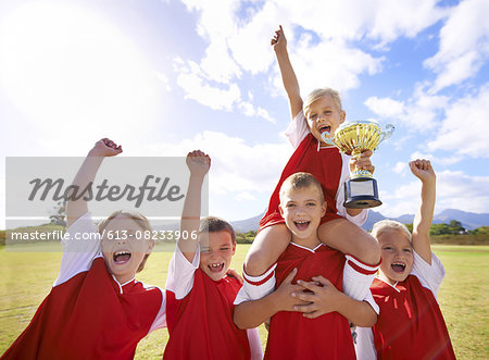 They won! Stock Photo - Premium Royalty-Free, Image code: 613-08233906