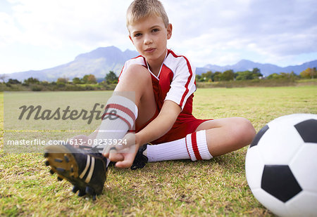 He'll make it big some day Stock Photo - Premium Royalty-Free, Image code: 613-08233924