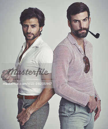 They've got far out style Stock Photo - Premium Royalty-Free, Image code: 613-08235947