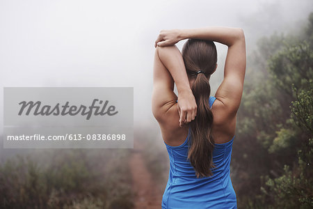 She's dedicated to her fitness Stock Photo - Premium Royalty-Free, Image code: 613-08386898