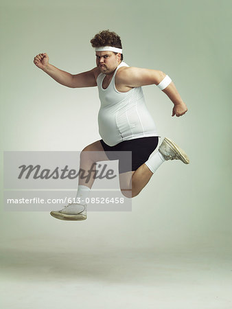 I feel in shape already Stock Photo - Premium Royalty-Free, Image code: 613-08526458