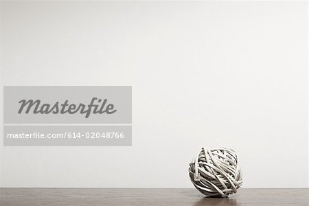 Cable in a ball Stock Photo - Premium Royalty-Free, Image code: 614-02048766
