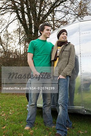 Two teenage boys Stock Photo - Premium Royalty-Free, Image code: 614-02074199