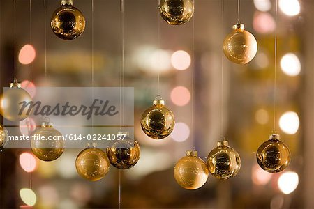 Christmas baubles Stock Photo - Premium Royalty-Free, Image code: 614-02241057