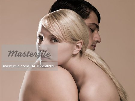 Couple hugging Stock Photo - Premium Royalty-Free, Image code: 614-02258289