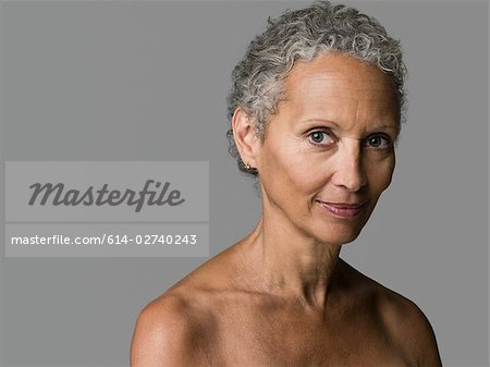 Portrait of a senior woman Stock Photo - Premium Royalty-Free, Image code: 614-02740243
