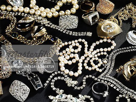 Jewelry Stock Photo - Premium Royalty-Free, Image code: 614-03468719