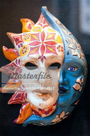 Venice carnival mask Stock Photo - Premium Royalty-Free, Image code: 614-03684352
