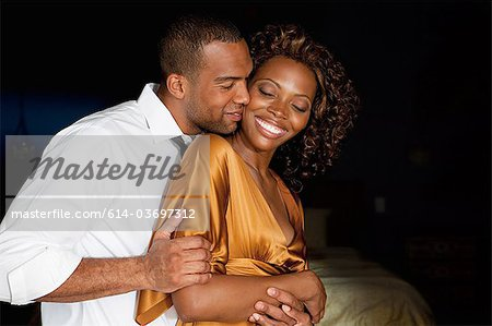 Affectionate young couple Stock Photo - Premium Royalty-Free, Image code: 614-03697312