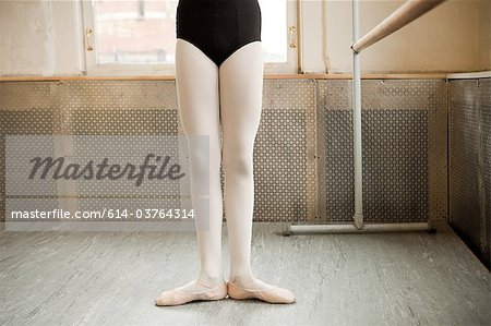 Legs of a ballerina Stock Photo - Premium Royalty-Free, Image code: 614-03764314