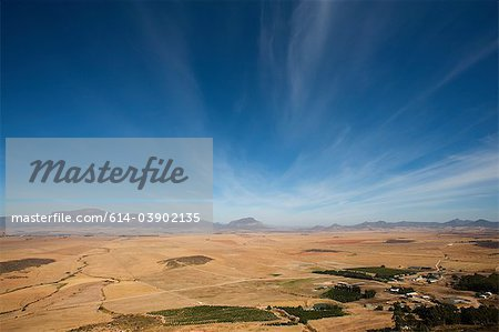 Valley landscape, South Africa Stock Photo - Premium Royalty-Free, Image code: 614-03902135