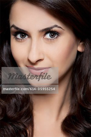 Portrait of a beautiful woman Stock Photo - Premium Royalty-Free, Image code: 614-05955254