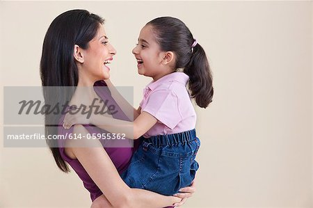 Mother and daughter Stock Photo - Premium Royalty-Free, Image code: 614-05955362
