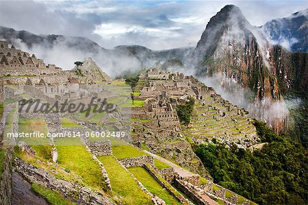Machu picchu, peru, south america Stock Photo - Premium Royalty-Free, Image code: 614-06002489