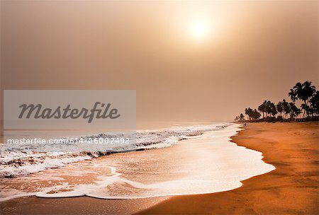 Beach, elmina, ghana, west africa Stock Photo - Premium Royalty-Free, Image code: 614-06002492