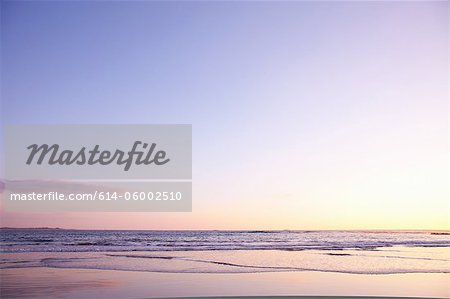 Playa Grande beach at sunset, Santa Cruz, Costa Rica Stock Photo - Premium Royalty-Free, Image code: 614-06002510