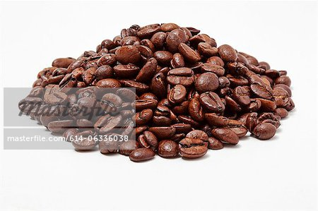 Coffee beans Stock Photo - Premium Royalty-Free, Image code: 614-06336038