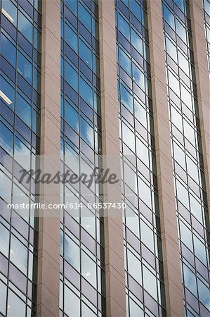 Close up of urban skyscraper Stock Photo - Premium Royalty-Free, Image code: 614-06537430