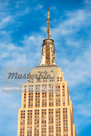 Empire State Building, New York City, USA Stock Photo - Premium Royalty-Free, Image code: 614-06813402