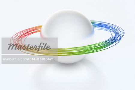 Planetary rings Stock Photo - Premium Royalty-Free, Image code: 614-06813421
