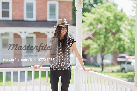 Portrait of teenage girl Stock Photo - Premium Royalty-Free, Image code: 614-07708255
