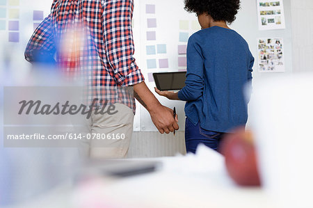 People in office of Small Business, Start-up Stock Photo - Premium Royalty-Free, Image code: 614-07806160