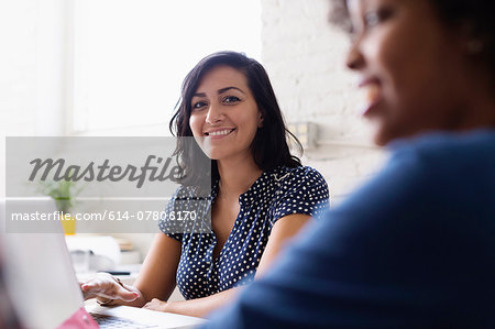 Colleagues in Small Business, Start-up Stock Photo - Premium Royalty-Free, Image code: 614-07806170