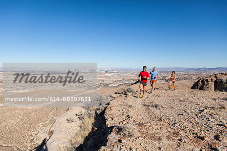 Runners, Las Vegas, Nevada, USA Stock Photo - Premium Royalty-Free, Image code: 614-08307631
