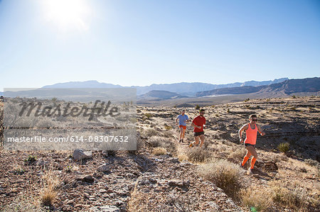 Runners, Las Vegas, Nevada, USA Stock Photo - Premium Royalty-Free, Image code: 614-08307632
