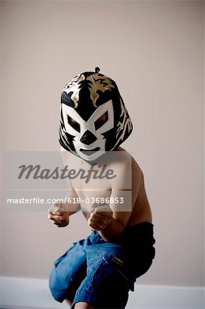 Luchador mask Stock Photo - Premium Royalty-Free, Image code: 618-03686853