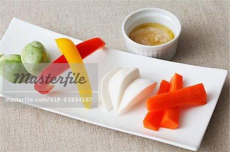 Vegetarian dish Stock Photo - Premium Royalty-Free, Image code: 618-03834587