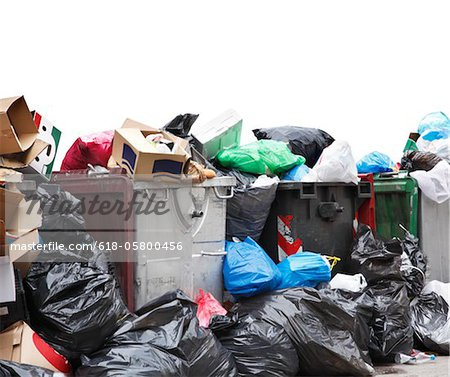Rubbish Stock Photo - Premium Royalty-Free, Image code: 618-05800456