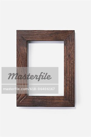 Wooden picture frame Stock Photo - Premium Royalty-Free, Image code: 618-06406167