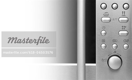 Microwave oven detail Stock Photo - Premium Royalty-Free, Image code: 618-06503576