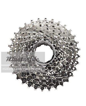Bike Cog Stock Photo - Premium Royalty-Free, Image code: 618-06618591