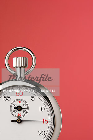 Stop watch Stock Photo - Premium Royalty-Free, Image code: 618-06818514