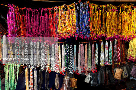 colorful threads selling in a local fair of Bengal Stock Photo - Premium Royalty-Free, Image code: 618-07457990