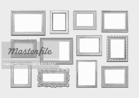 Picture frames Stock Photo - Premium Royalty-Free, Image code: 618-08102567