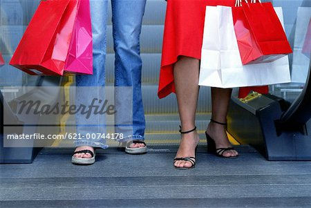 Teens shopping Stock Photo - Premium Royalty-Free, Image code: 621-00744178