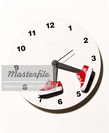 Time Flies Stock Photo - Premium Royalty-Free, Image code: 621-00788302