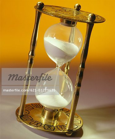 Hourglass Stock Photo - Premium Royalty-Free, Image code: 621-01229635